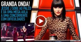 FENOMENAL: Jessie J dá Lição Grátis no The Voice