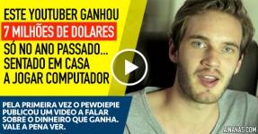 Este Youtuber Ganhou 7 Milhões de Dolares em 2014