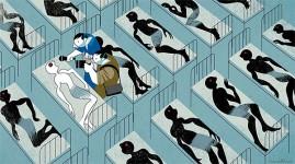 Português André Carrilho vence World Press Cartoon 2015