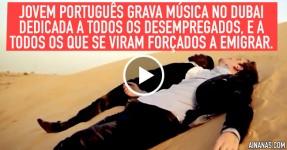 Jovem Português Gravou Clip no DUBAI. Descobre Porquê
