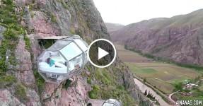 SÓ PARA AVENTUREIROS: Quarto em Casulo de Vidro numa Encosta no Peru
