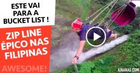 Zip Line ÉPICO nas Filipinas