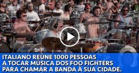 Fã de Foo Fighters Consegue Trazer a Banda à Sua Cidade