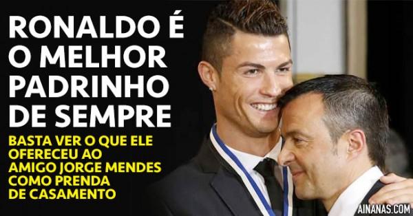 Cristiano Ronaldo É o Melhor Padrinho de SEMPRE