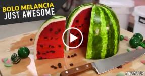 CAKE AWESOMENESS: Bolo Melancia