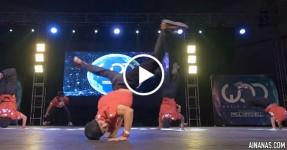 Team Japonesa Parte Tudo no World of Dance 2015
