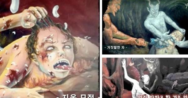 Rapariga Coreana diz que foi AO INFERNO e Pinta o que Viu
