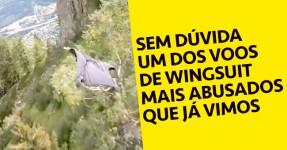 SURREAL: Voo de Wingsuit Completamente LOUCO