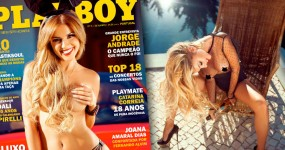 Filipa Henrique Nua na Playboy Setembro 2015
