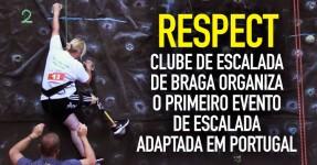 Clube de Escalada de Braga: Escalada Adaptada em Portugal