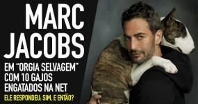 """MARC JACOBS: """"Orgia Selvagem"""" com 10 Gajos"""