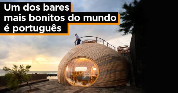 Um dos bares mais bonitos do Mundo fica em Portugal