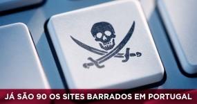 Já são 90 os Sites Barrados pelas Operadoras em Portugal
