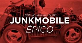 AFRICA: Homem Constroi Carro Abusado com Peças que Encontrou no Ferro Velho