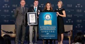 007 SPECTRE entra no Guinness com Maior Explosão da História do Cinema
