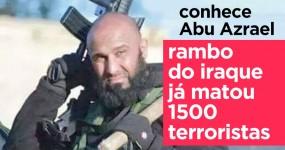 Conhece o RAMBO DO IRAQUE que já matou 1500 Terroristas
