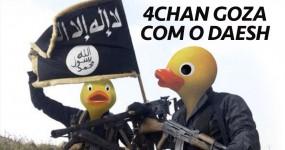 """4Chan Goza com DAESH: """"Estado do Pato"""""""