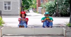 Super Mario Kart na Vida Real (STOP MOTION)