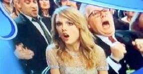 Grammys: «Confusão» de Taylor Swift já é viral