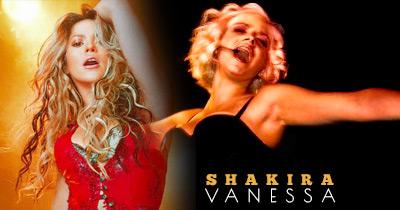 Vanessa rebenta com tudo como Shakira