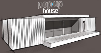 POP-UP HOUSE: Casa Passiva Low Cost