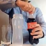 BRUXEDO: coca-cola transparente
