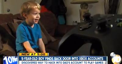 Puto de 5 Anos Quebra Segurança da Xbox One