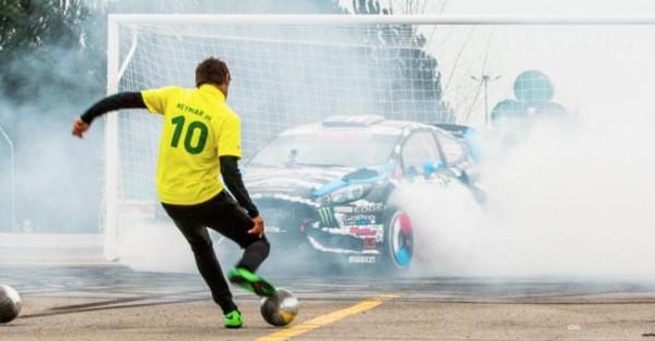 Neymar vs Ken Block – Footkhana