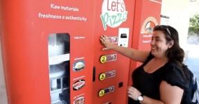 Máquina de Venda Automática faz PIZZA no Momento!!