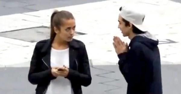 Rapaz pede Beijo mas a Cena Corre Mal