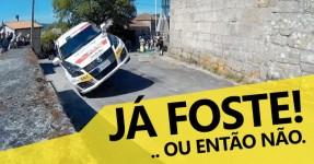 Curva Épica em Duas Rodas no Rally de Ourense