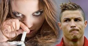 Cristiano Ronaldo Usado como Marca para Cocaína