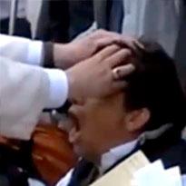 O EXORCISTA: Papa Francisco Filmado em Acção