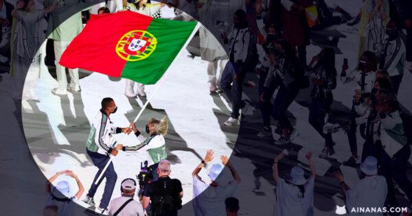 TELMA MONTEIRO e NELSON ÉVORA protagonizam melhor momento da Abertura dos Jogos Olímpicos