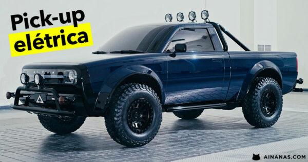 ALPHA WOLF: Esta pickup elétrica está MUITO FIXE