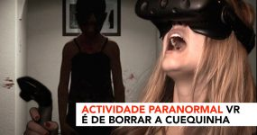 ATIVIDADE PARANORMAL VR é de Borrar a Cueca