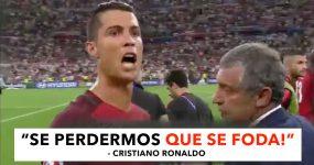 """Se perdermos que se foda"", Cristiano Ronaldo"