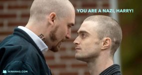 Harry Potter virou Agente do FBI… que virou Skinhead