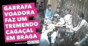 Garrafa Voadora Faz TREMENDO CAGAÇAL em Braga