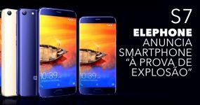 """Elephone anuncia smartphone """"à prova de explosão"""""""