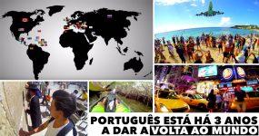 SONHO: Português anda há 3 anos a dar a volta ao Mundo