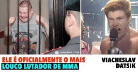 CLINICAMENTE LOUCO: Ele é o mais marado lutador de MMA