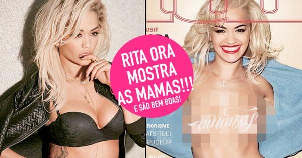 RITA ORA Mostra as Marufas: Topless Arrojado da Cantora!