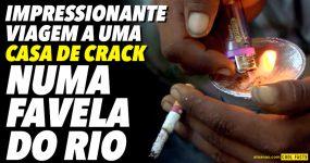 Visita impressionante a uma CASA DE CRACK no Rio de Janeiro