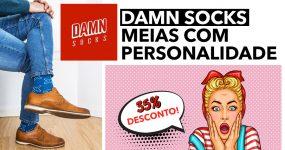 DAMN SOCKS: meias com personalidade!