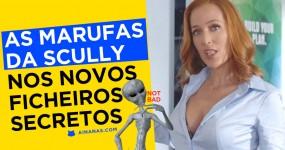 As Marufas da Scully nos novos FICHEIROS SECRETOS