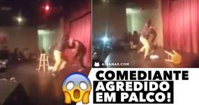 Comediante ATACADO EM PALCO