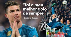 Golo INCRÍVEL de Ronaldo Aplaudido de Pé pelos Adeptos Adversários