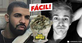 EASY: Drake faz doação de 5000 dolares ao Ninja