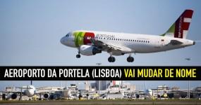 Aeroporto de Lisboa vai (MESMO) mudar de nome